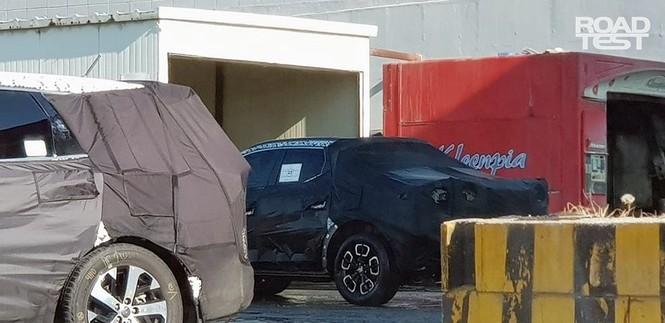 Bán tải Hyundai Santa Cruz lộ ảnh chạy thử - ảnh 5