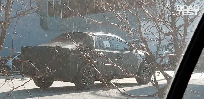 Bán tải Hyundai Santa Cruz lộ ảnh chạy thử - ảnh 4