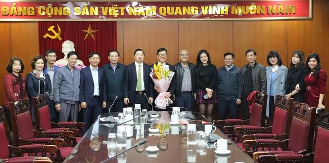 Ông Tống Văn Thanh được bổ nhiệm Phó Vụ trưởng Vụ Báo chí - Xuất bản - ảnh 1