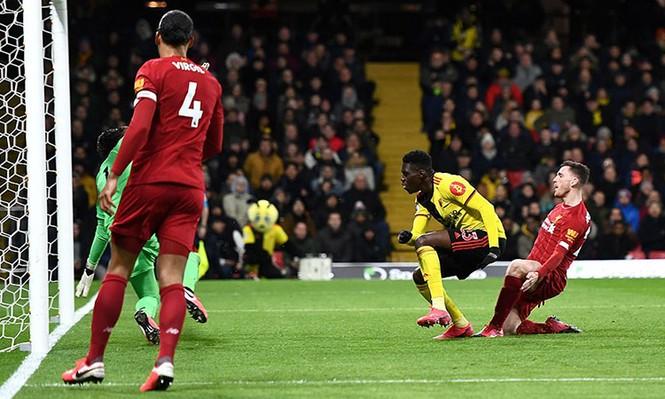 Liverpool đứt mạch bất bại - ảnh 1