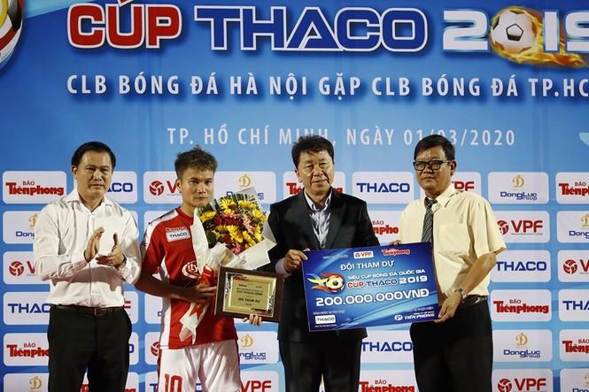 Khoảnh khắc Hà Nội FC nhận Siêu cúp Quốc gia - ảnh 9