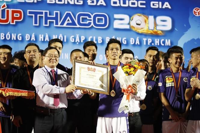 Khoảnh khắc Hà Nội FC nhận Siêu cúp Quốc gia - ảnh 3
