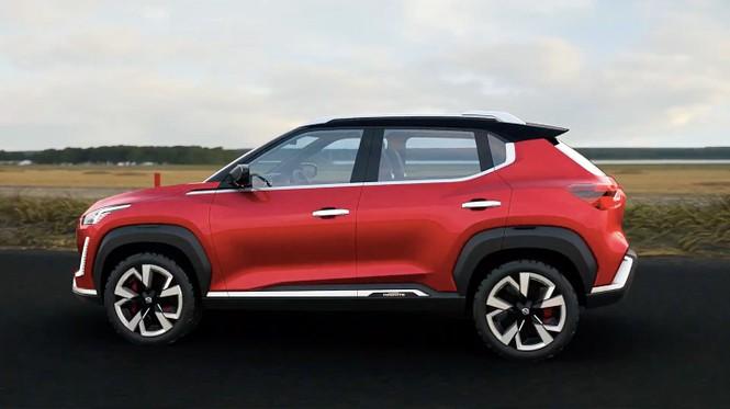 Nissan Magnite lộ diện ảnh chính thức - ảnh 1