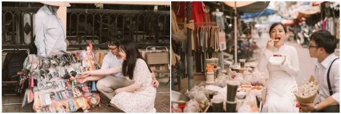Đôi trẻ Mỹ Tho chụp ảnh cưới ở hàng hủ tiếu - ảnh 5