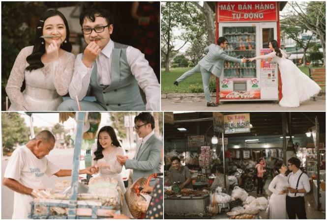Đôi trẻ Mỹ Tho chụp ảnh cưới ở hàng hủ tiếu - ảnh 8