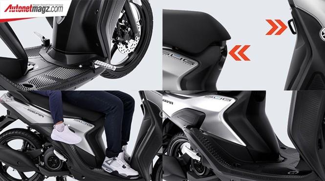 Yamaha Gear 125 hoàn toàn mới trình làng thị trường Indonesia - ảnh 6