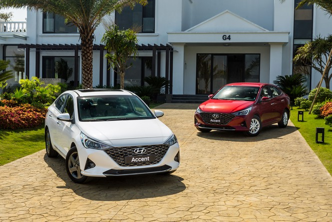 Hyundai Accent 2021 trình làng tại Việt Nam, quyết đấu Toyota Vios - ảnh 1