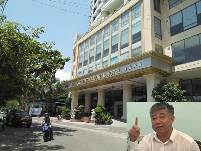 Ông chủ khách sạn hạng sang xây trên đất quốc phòng bị truy tố - ảnh 1
