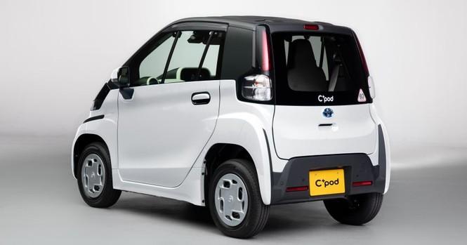 Toyota ra mắt ôtô điện 2 chỗ, phạm vi hoạt động 150 km - ảnh 3