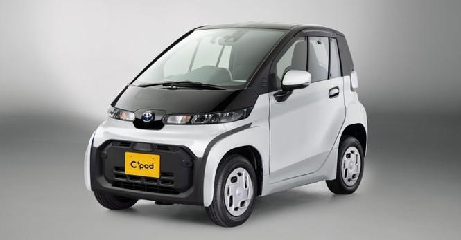 Toyota ra mắt ôtô điện 2 chỗ, phạm vi hoạt động 150 km - ảnh 1