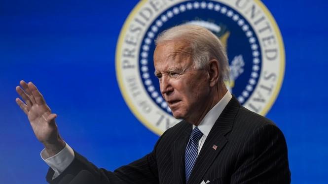 Tổng thống Biden dự định điện hóa xe chính phủ - ảnh 1