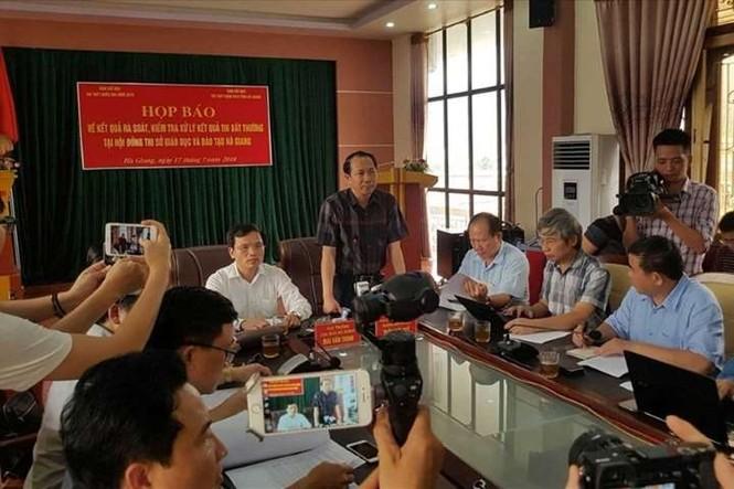 Gian lận thi cử 2018: Hà Giang công bố 151 cán bộ, đảng viên liên quan - ảnh 1