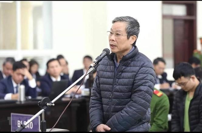 Cựu Bộ trưởng Nguyễn Bắc Son, Trương Minh Tuấn nói lời sau cùng - ảnh 2