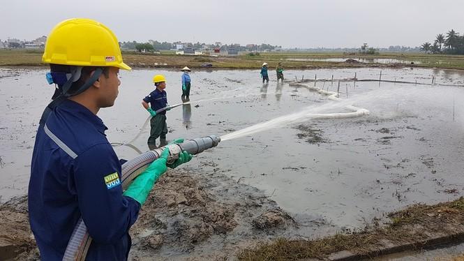 dầu thải sông đà - ảnh 2