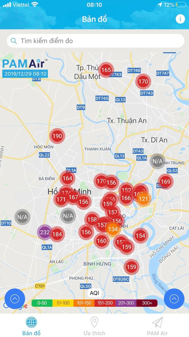 ô nhiễm không khí thành phố hồ chí minh - ảnh 1
