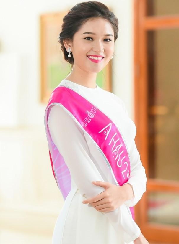 Á hậu Huỳnh Thị Thuỳ Dung: 'Mong sao thời khắc này kéo dài thêm nữa' - ảnh 1