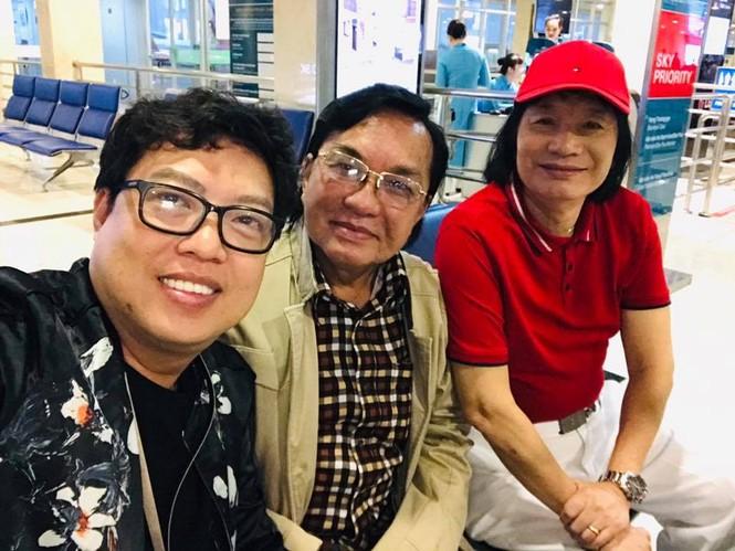 Thanh Tuấn, Minh Vương bay sớm ra Hà Nội để nhận danh hiệu NSND  - ảnh 2