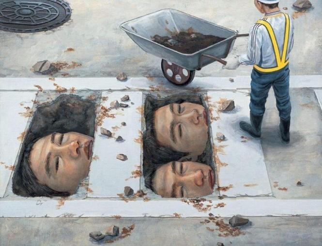 Họa sĩ Nhật Bản ra đi ở tuổi 31 để lại hơn 200 bức tranh nổi tiếng ám ảnh toàn nhân loại - ảnh 2
