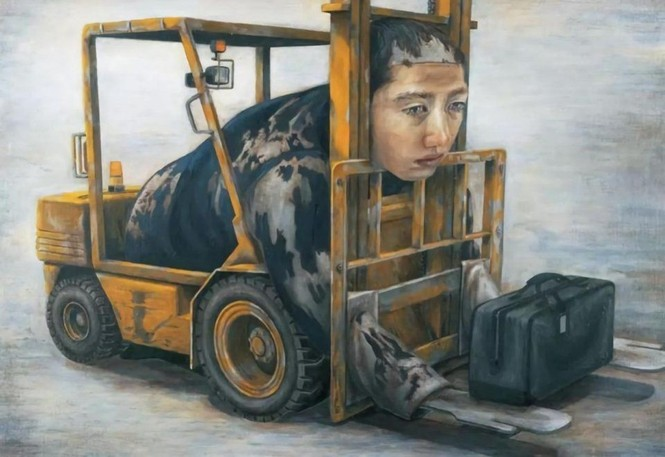 Họa sĩ Nhật Bản ra đi ở tuổi 31 để lại hơn 200 bức tranh nổi tiếng ám ảnh toàn nhân loại - ảnh 3