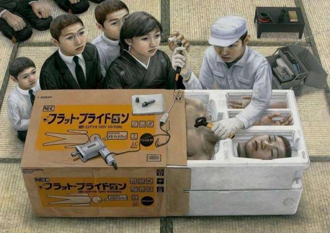 Họa sĩ Nhật Bản ra đi ở tuổi 31 để lại hơn 200 bức tranh nổi tiếng ám ảnh toàn nhân loại - ảnh 6