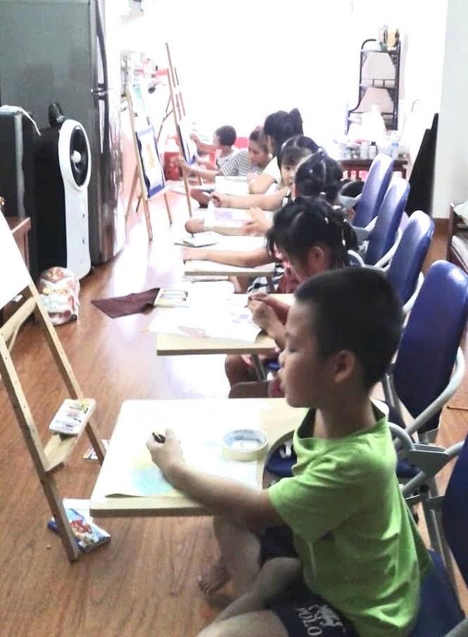 Diệu Linh – cô mẫu ảnh đam mê hội họa và ước mơ trở thành giảng viên mỹ thuật  - ảnh 5