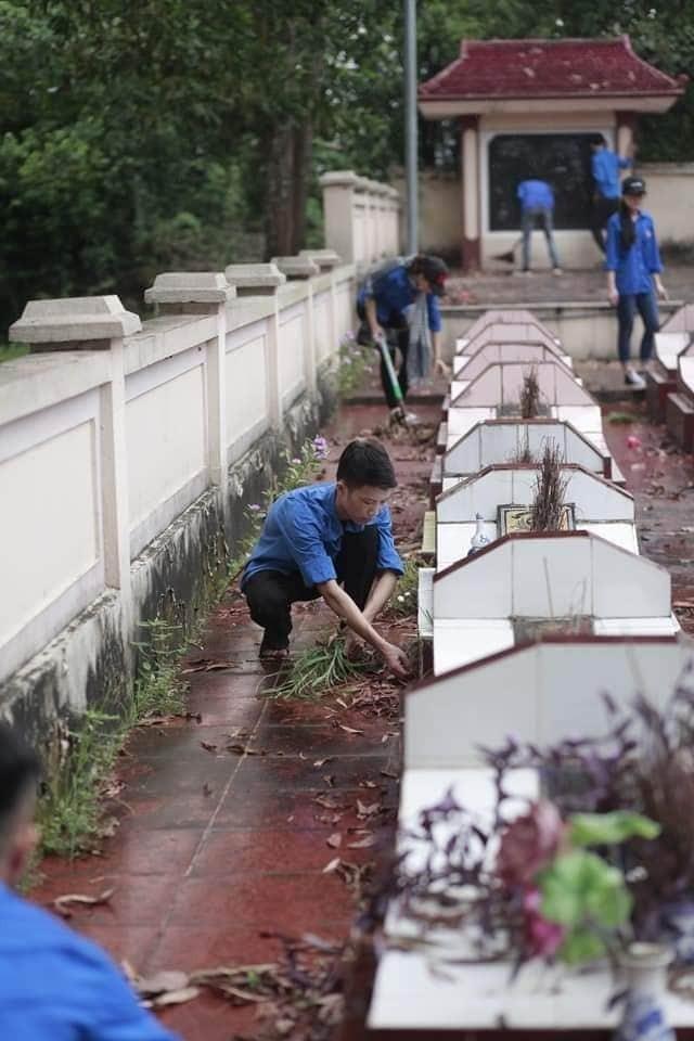Tháng Bảy tri ân: Chuỗi hoạt động ý nghĩa của tuổi trẻ trường Đại học Y Dược Thái Nguyên - ảnh 10