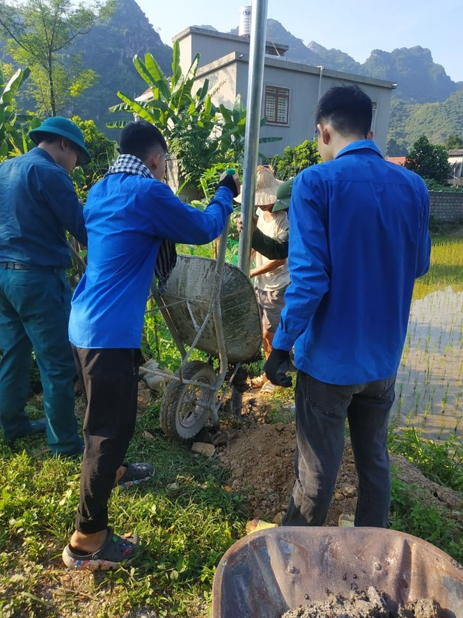 Tháng Bảy tri ân: Chuỗi hoạt động ý nghĩa của tuổi trẻ trường Đại học Y Dược Thái Nguyên - ảnh 13