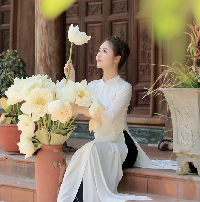 Hoa khôi tình nguyện luôn mong muốn lan tỏa tình thương - ảnh 13