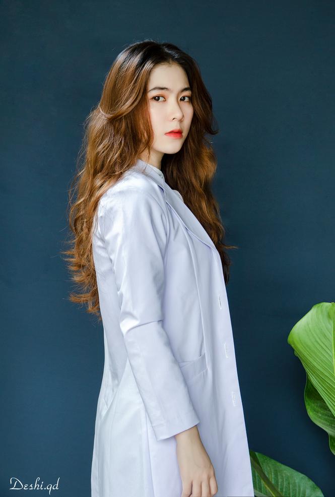 """9X xinh đẹp Ngọc Anh: """"Sinh viên Y Dược cực năng động, không hề khô khan"""" - ảnh 2"""