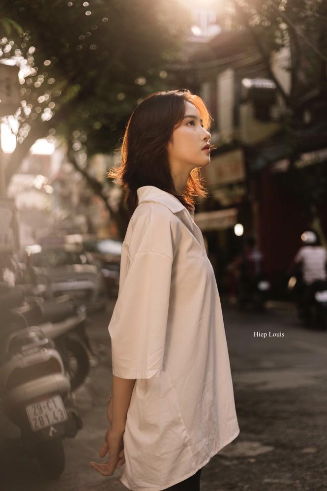 Xao xuyến với nét đẹp dung dị của nữ sinh trường Dệt may - ảnh 9