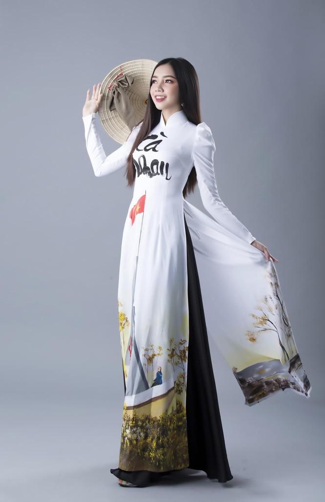 Nữ sinh Cà Mau với ước mơ chinh phục ngôi vị Hoa hậu Việt Nam 2020 - ảnh 4