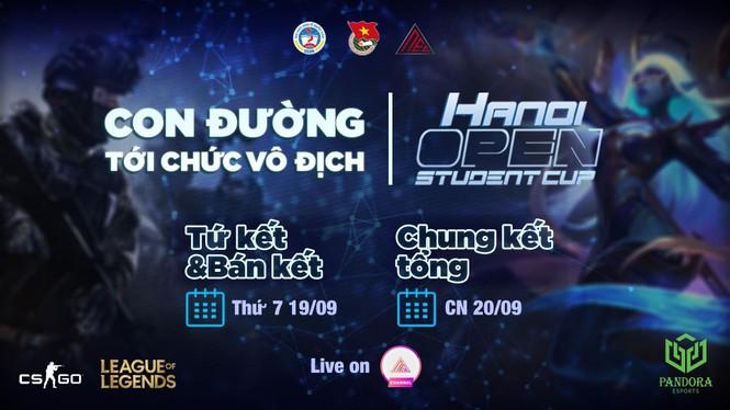"""""""Hanoi Open Student Cup 2020"""": Con đường tới chức vô địch - ảnh 4"""