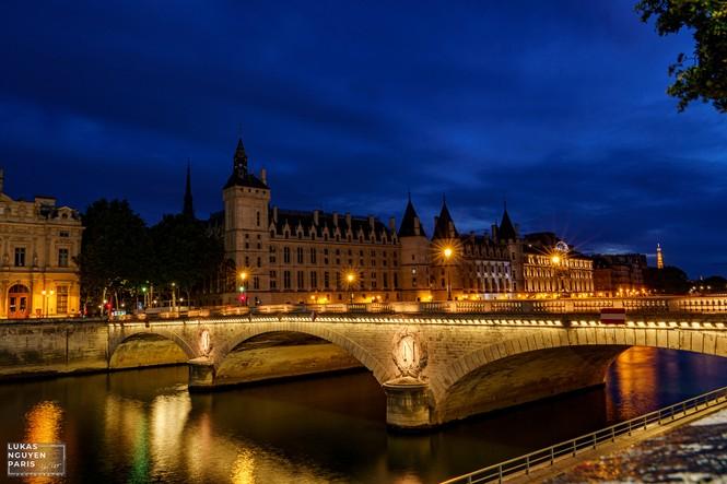 Thành phố Paris về đêm mùa COVID-19 qua góc máy của du học sinh Việt Nam - ảnh 12