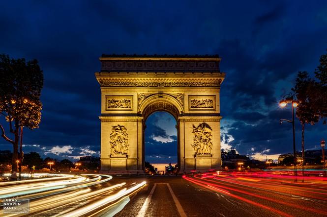Thành phố Paris về đêm mùa COVID-19 qua góc máy của du học sinh Việt Nam - ảnh 13