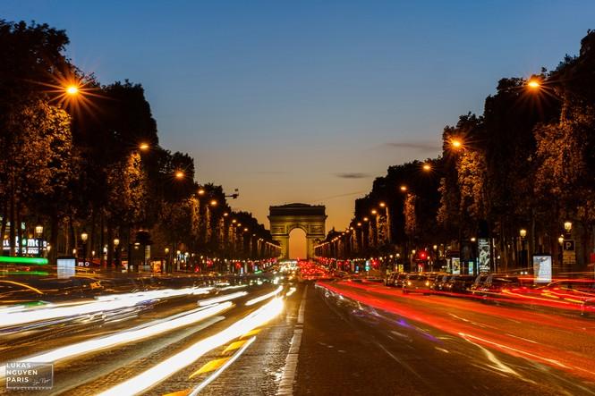 Thành phố Paris về đêm mùa COVID-19 qua góc máy của du học sinh Việt Nam - ảnh 15