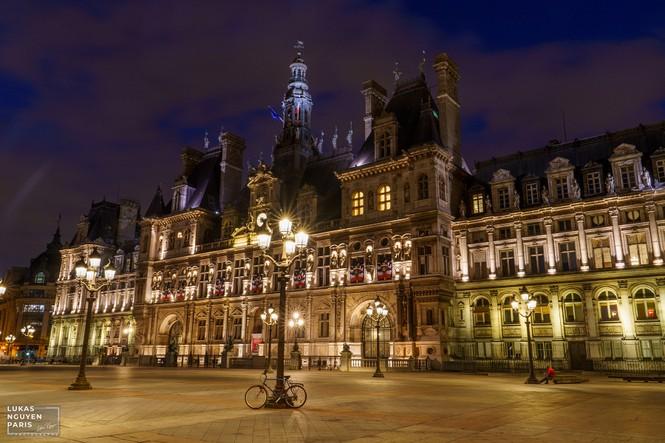 Thành phố Paris về đêm mùa COVID-19 qua góc máy của du học sinh Việt Nam - ảnh 17