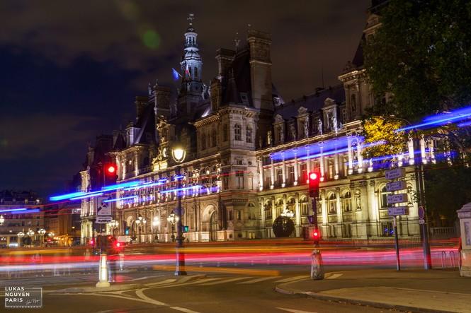 Thành phố Paris về đêm mùa COVID-19 qua góc máy của du học sinh Việt Nam - ảnh 3