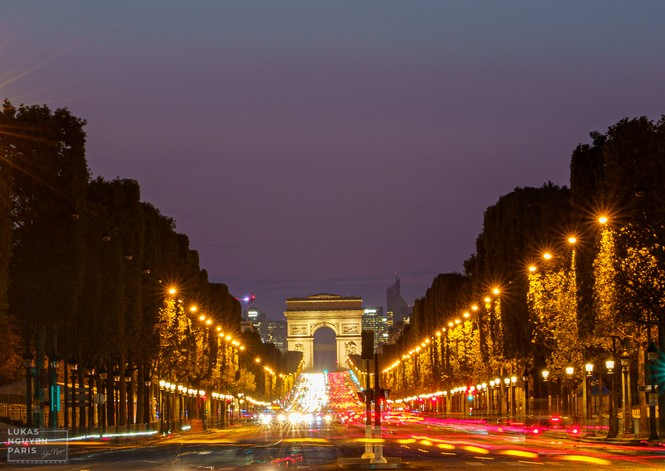 Thành phố Paris về đêm mùa COVID-19 qua góc máy của du học sinh Việt Nam - ảnh 4