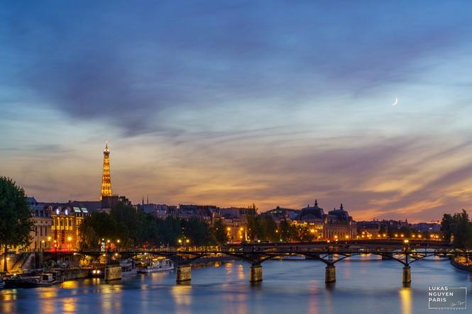 Thành phố Paris về đêm mùa COVID-19 qua góc máy của du học sinh Việt Nam - ảnh 7