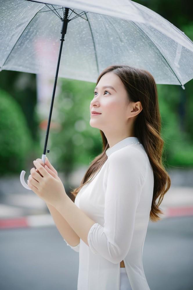 Nữ sinh ĐH Kinh tế Quốc dân tốt nghiệp loại giỏi, luyện Taekwondo và ước mơ trở thành MC - ảnh 13