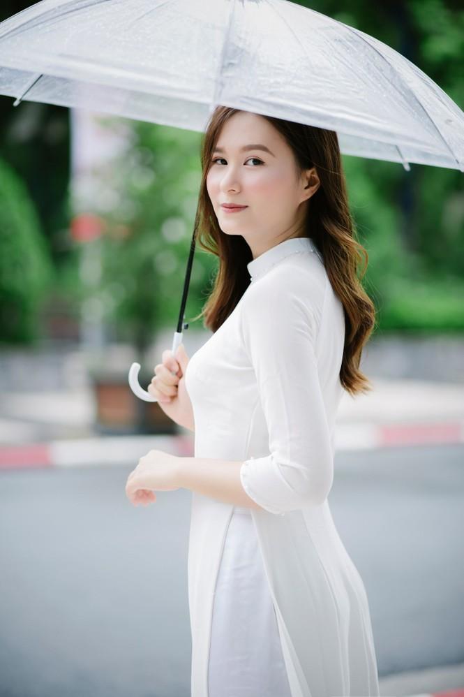 Nữ sinh ĐH Kinh tế Quốc dân tốt nghiệp loại giỏi, luyện Taekwondo và ước mơ trở thành MC - ảnh 1