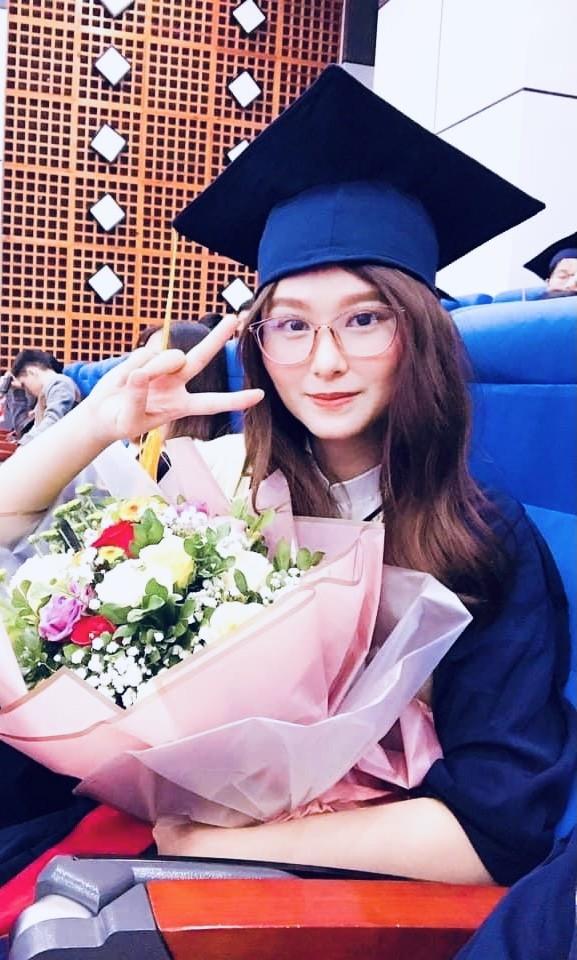 Nữ sinh ĐH Kinh tế Quốc dân tốt nghiệp loại giỏi, luyện Taekwondo và ước mơ trở thành MC - ảnh 4