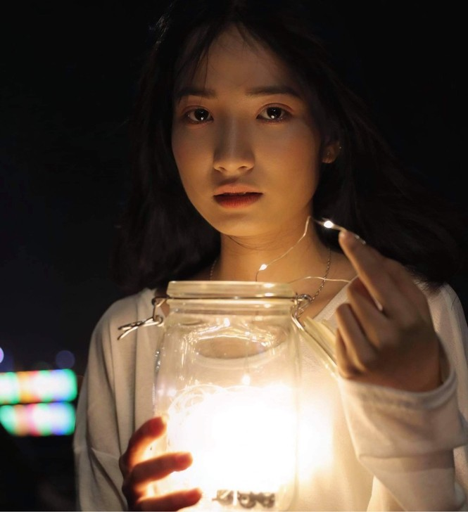 Vẻ đẹp trong veo tựa 'nàng thơ' của nữ sinh trường Cao đẳng Sư phạm Trung ương - ảnh 12