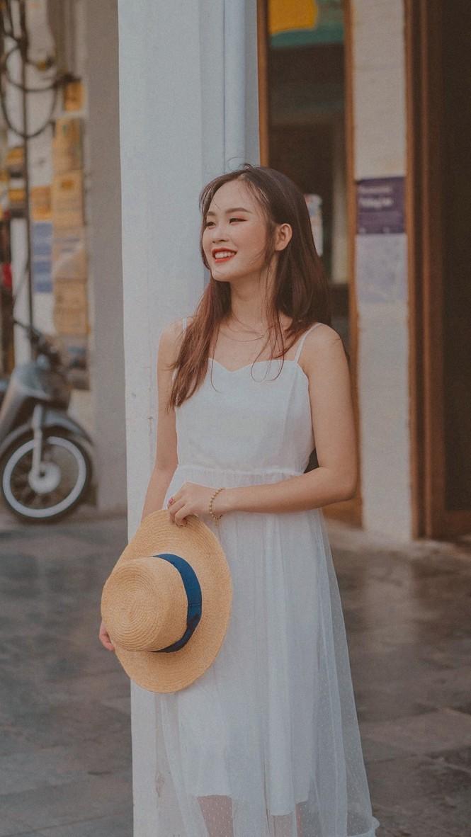 Vẻ đẹp chuẩn Hàn Quốc của nữ sinh trường ĐH Kinh doanh và Công nghệ Hà Nội  - ảnh 11