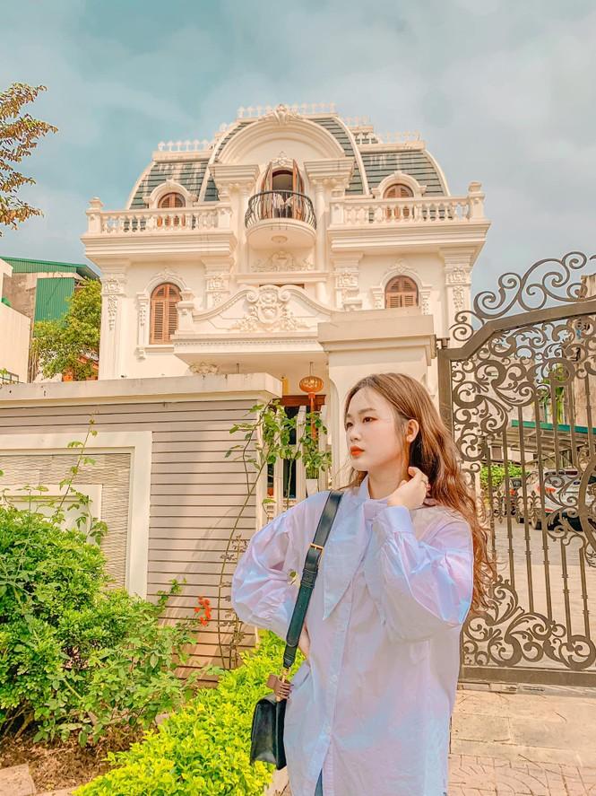 Vẻ đẹp chuẩn Hàn Quốc của nữ sinh trường ĐH Kinh doanh và Công nghệ Hà Nội  - ảnh 4