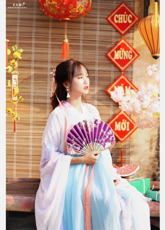Vẻ đẹp chuẩn Hàn Quốc của nữ sinh trường ĐH Kinh doanh và Công nghệ Hà Nội  - ảnh 9