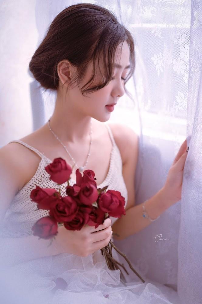 Xao xuyến trước vẻ đẹp tinh khôi của bông hồng xứ Nghệ - ảnh 17
