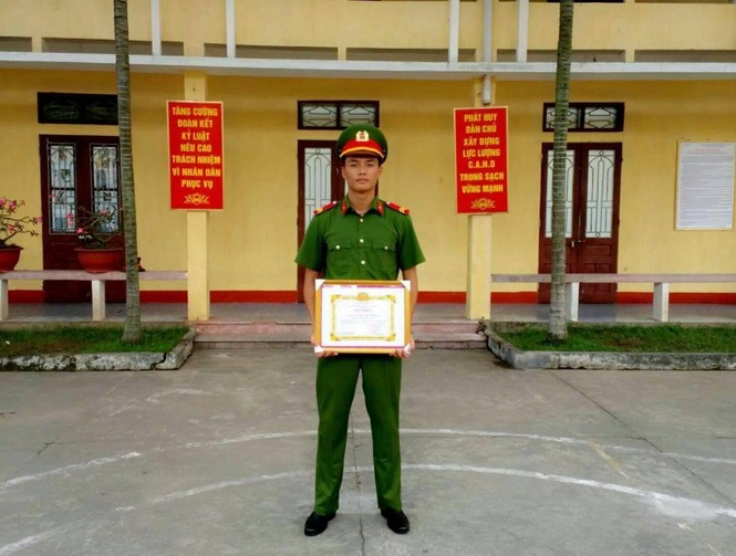 Xin ra quân để lên Hà Nội học diễn viên - ảnh 8
