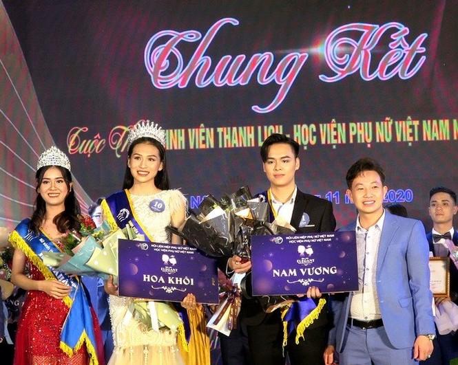 Chung kết cuộc thi Sinh viên thanh lịch Học viện Phụ nữ Việt Nam 2020 - ảnh 3