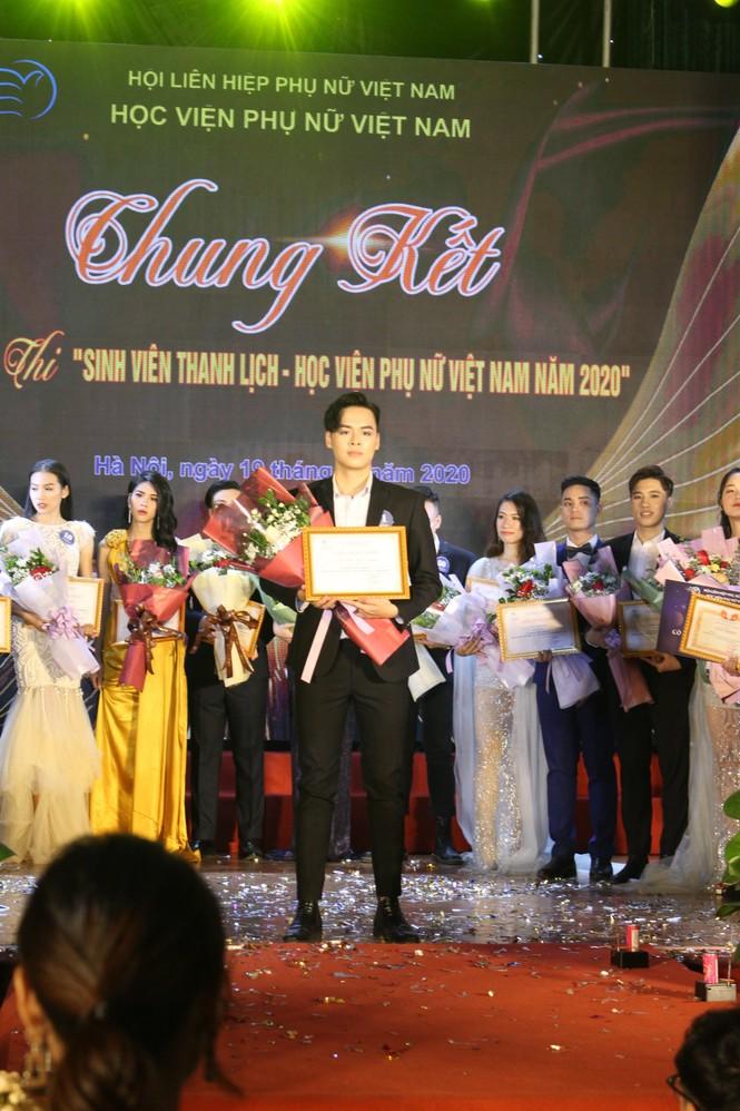 Chung kết cuộc thi Sinh viên thanh lịch Học viện Phụ nữ Việt Nam 2020 - ảnh 4